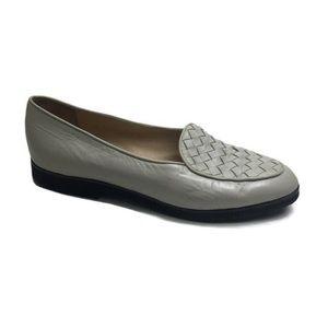 Bottega Veneta Woven Leather Loafer Size 37.5